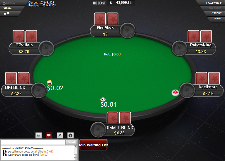 PokerStars Clone for WPN 15