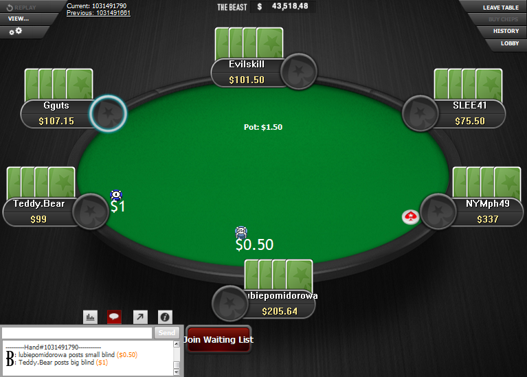 PokerStars Clone for WPN 20