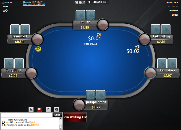 PokerStars Clone for WPN 21