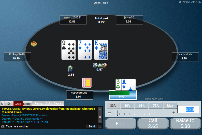PokerStars Clone for PartyPoker 41