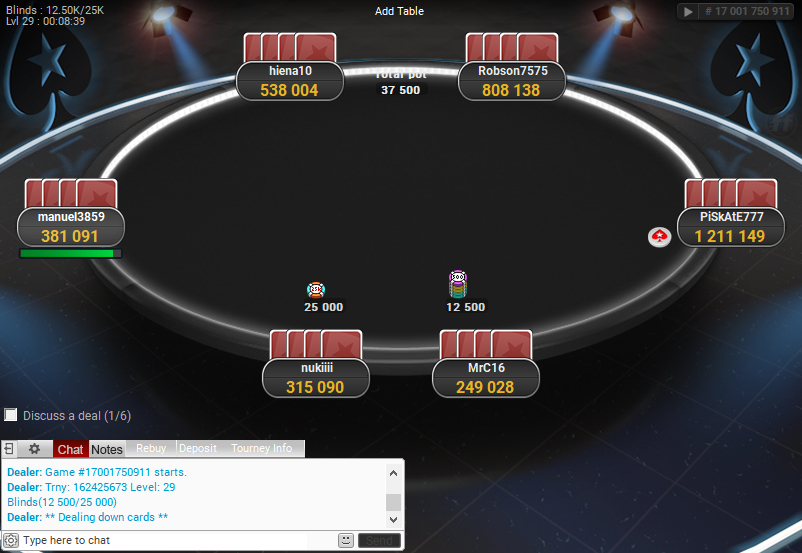 PokerStars Clone for PartyPoker 61