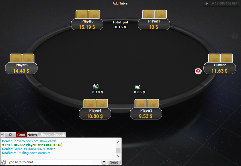 PokerStars Clone for PartyPoker 67