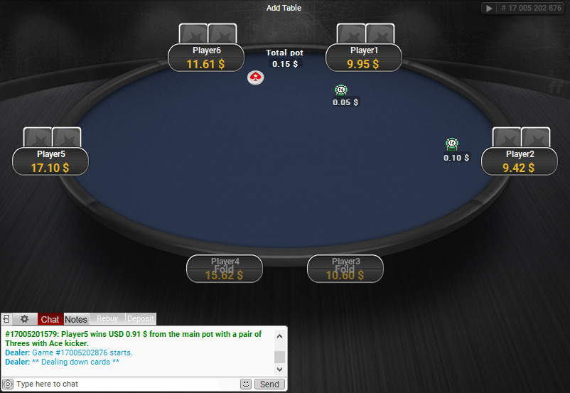 PokerStars Clone for PartyPoker 69
