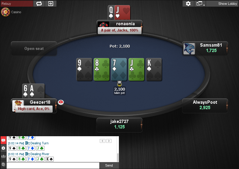 PokerStars Clone for Chico 02