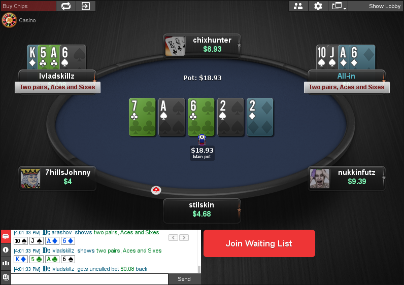 PokerStars Clone for Chico 03
