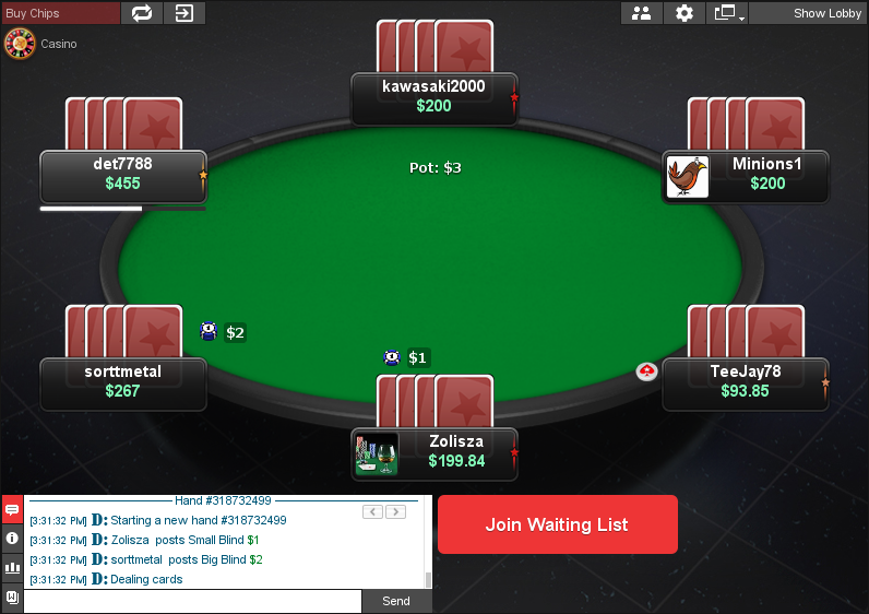 PokerStars Clone for Chico 05