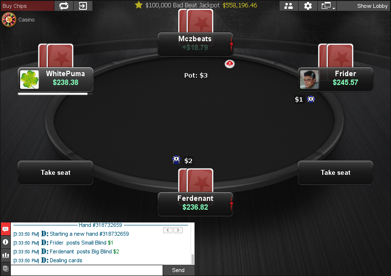 PokerStars Clone for Chico 06