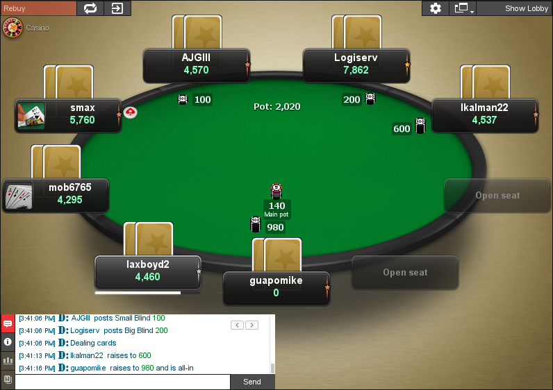 PokerStars Clone for Chico 08