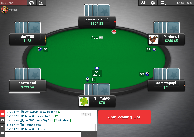 PokerStars Clone for Chico 09
