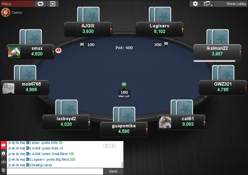 PokerStars Clone for Chico 10