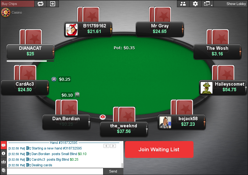 PokerStars Clone for Chico 11