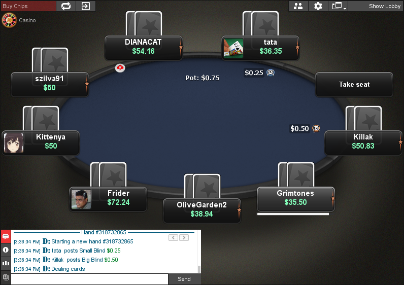 PokerStars Clone for Chico 12