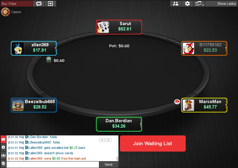 PokerStars Clone for Chico 16