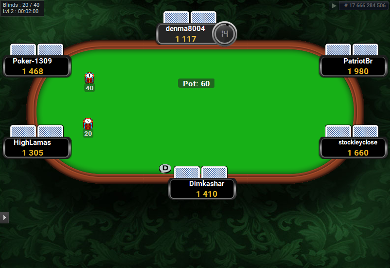 Full Tilt Clone for PartyPoker Green Carpet