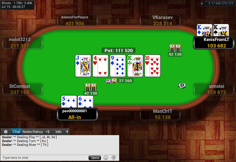 Full Tilt Clone for PartyPoker Holdem Showdown 3