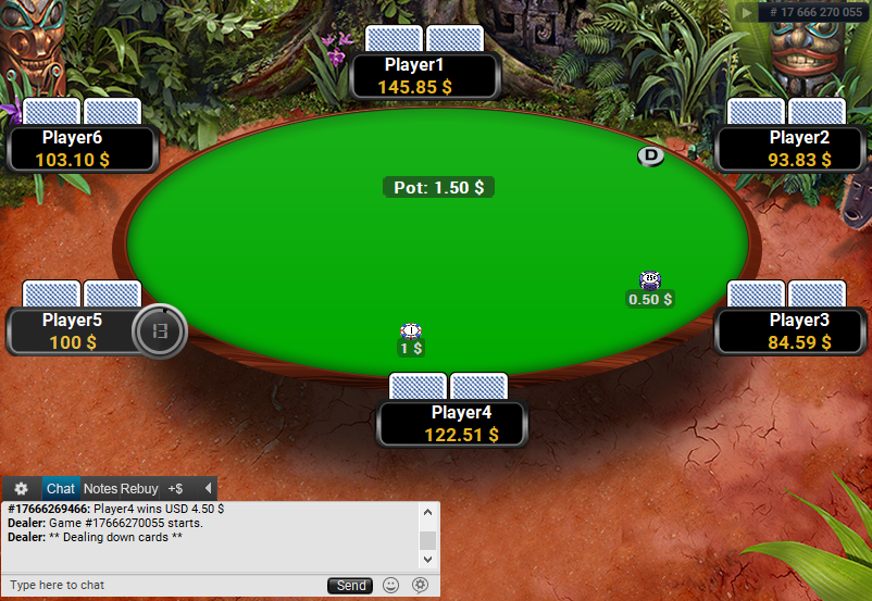 Full Tilt Clone for PartyPoker Jungle table