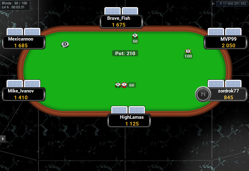 Full Tilt Clone for PartyPoker Tile Floor
