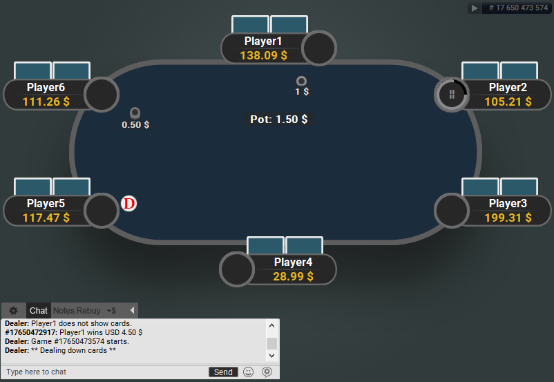 GTO V.2 for PartyPoker Blue Table
