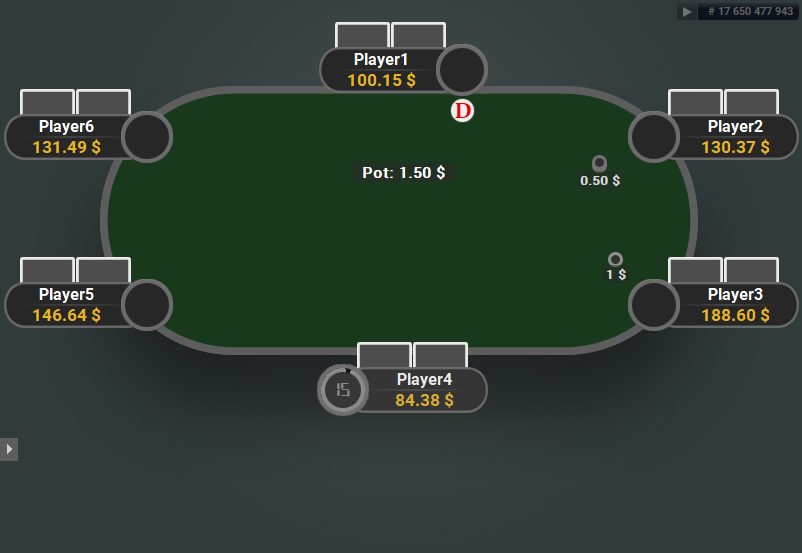 GTO V.2 for PartyPoker Green Table
