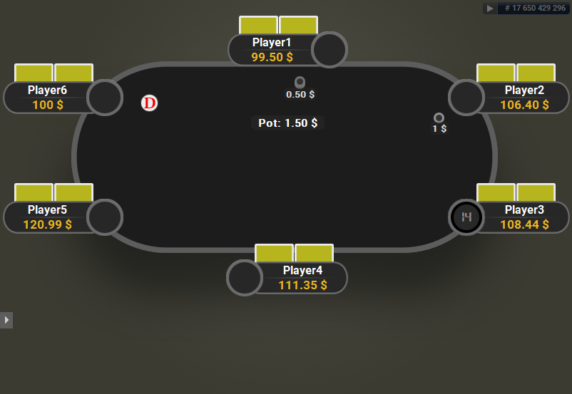 GTO V.2 for PartyPoker Yellow Cards