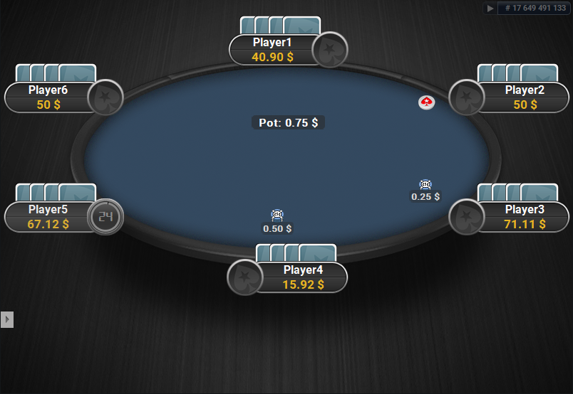 PokerStars Clone for PartyPoker Blue Table PLO
