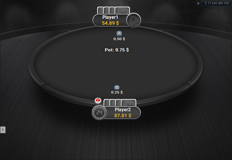 PokerStars Clone for PartyPoker Heads-Up