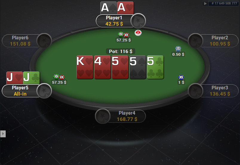 PokerStars Clone for PartyPoker Holdem Showdown Quasar Cards