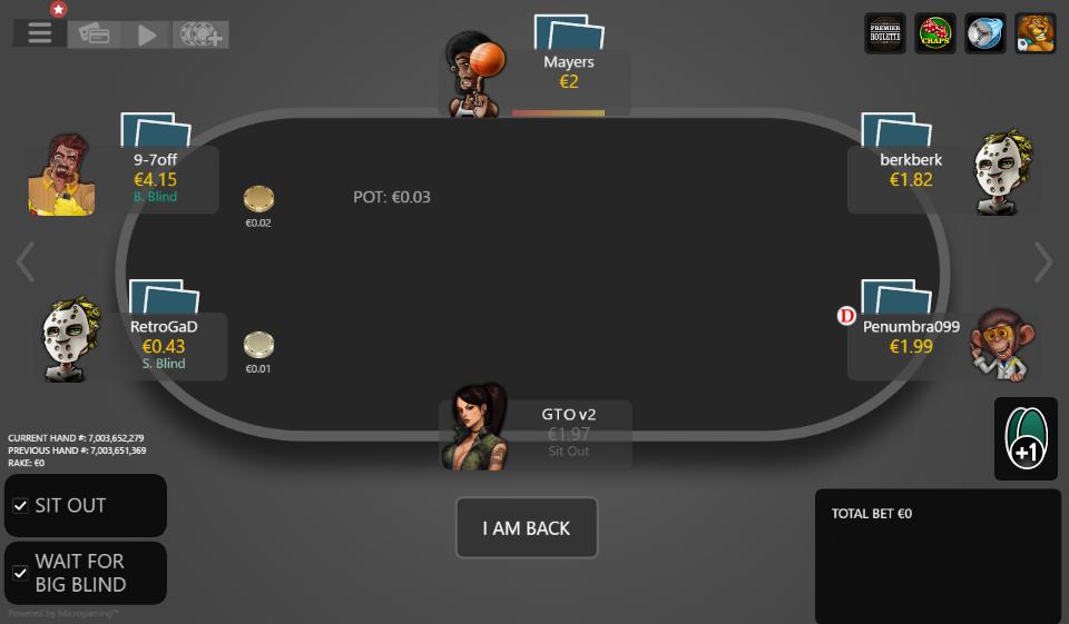 Gto poker two plus two