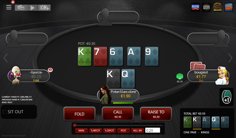 Table Theme PokerStars Clone for MPN Prima 01