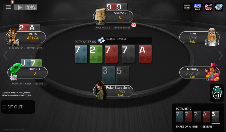 Table Theme PokerStars Clone for MPN Prima 05
