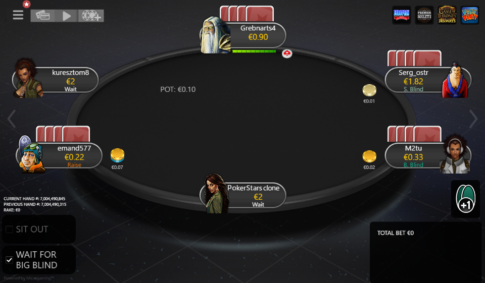 Table Theme PokerStars Clone for MPN Prima 06