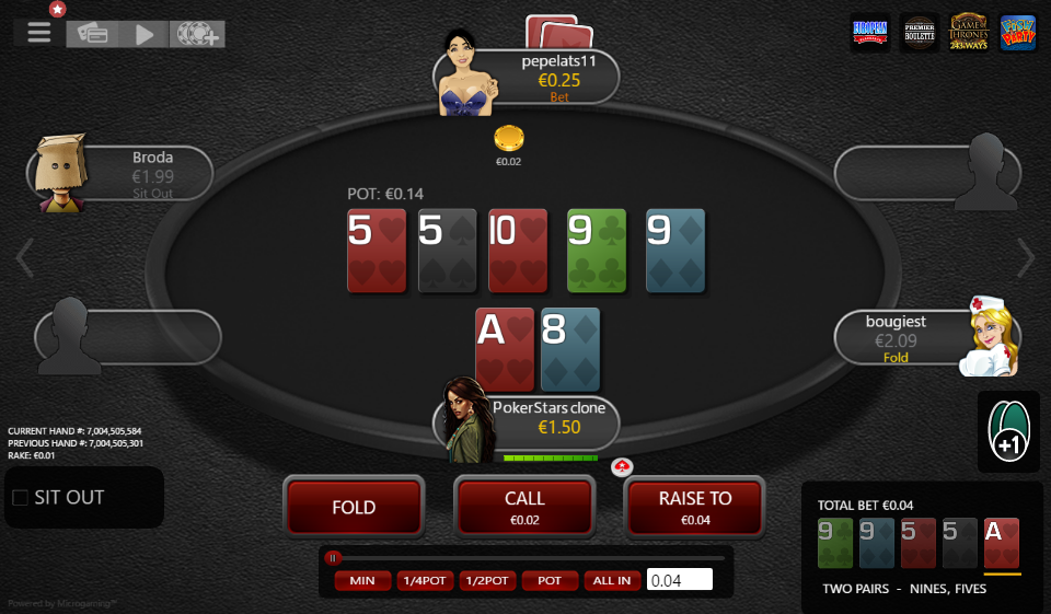 Table Theme PokerStars Clone for MPN Prima 07
