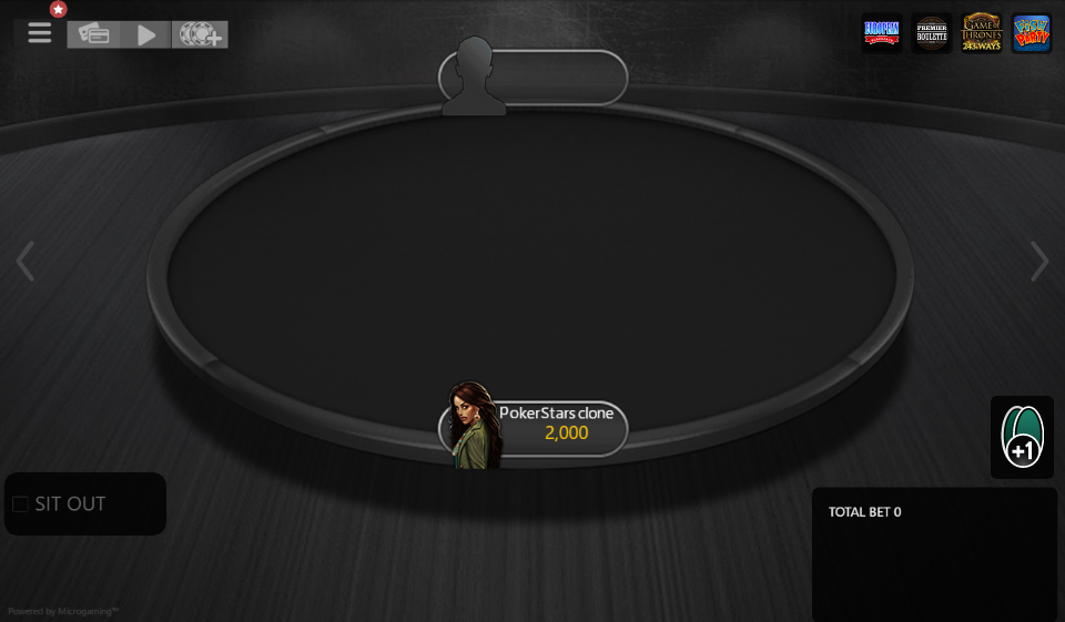 Table Theme PokerStars Clone for MPN Prima 09