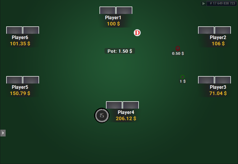 The Zone for PartyPoker Green Table