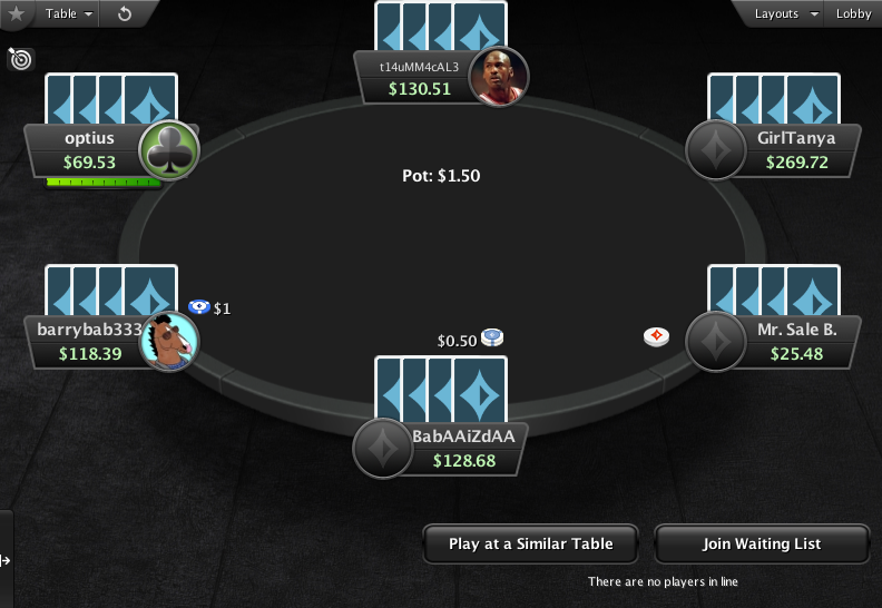 PartyPoker Clone for PokerStars Big Card Backs