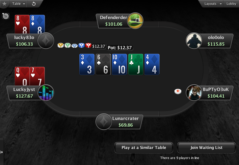 PartyPoker Clone for PokerStars Holdem Showdown 1
