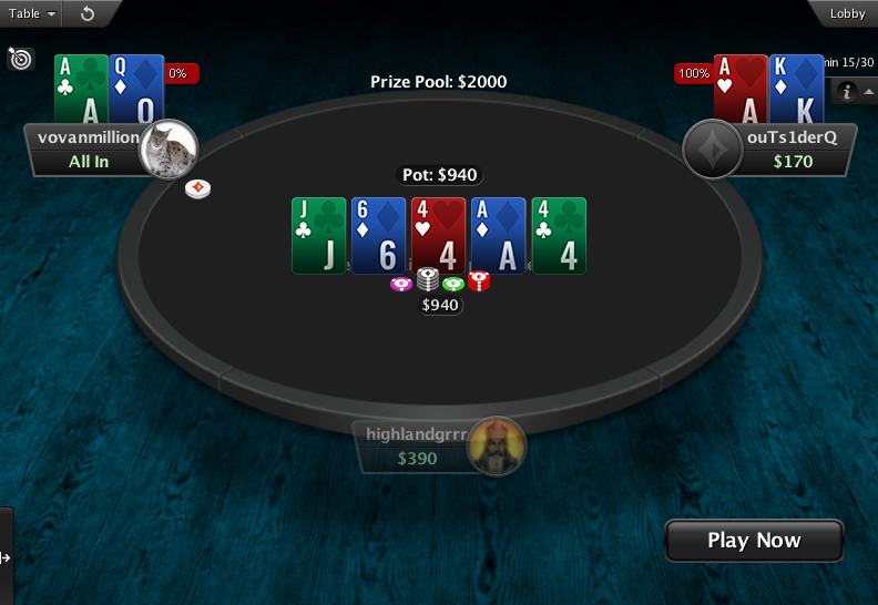 PartyPoker Clone for PokerStars Holdem Showdown 2