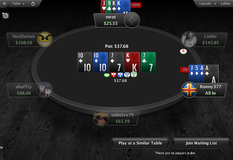 PartyPoker Clone for PokerStars PLO Showdown 1