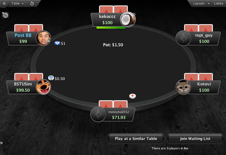 PartyPoker Clone for PokerStars Red Card Backs