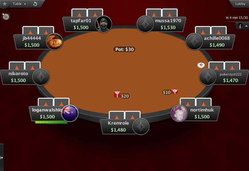 PartyPoker Clone for PokerStars Red Carpet