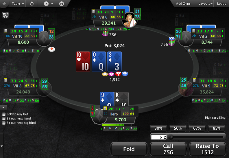 PartyPoker Clone for PokerStars with HUD