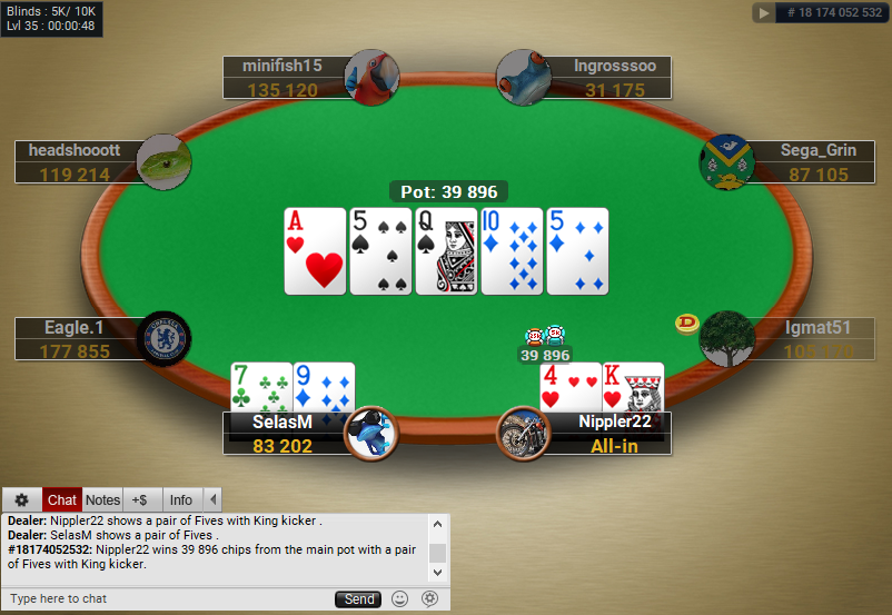 05 PartyPoker Table Theme Classic Holdem SD1