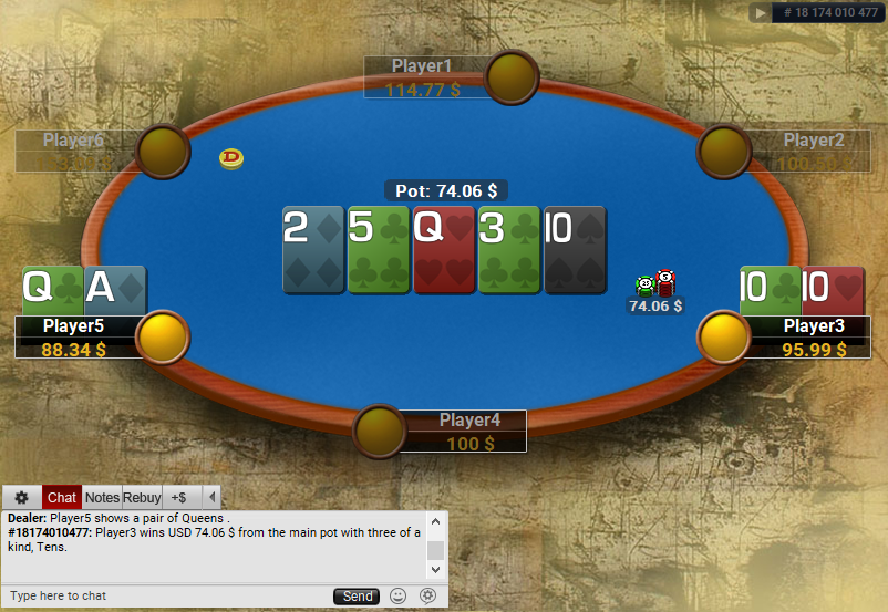 06 PartyPoker Table Theme Classic Holdem SD2
