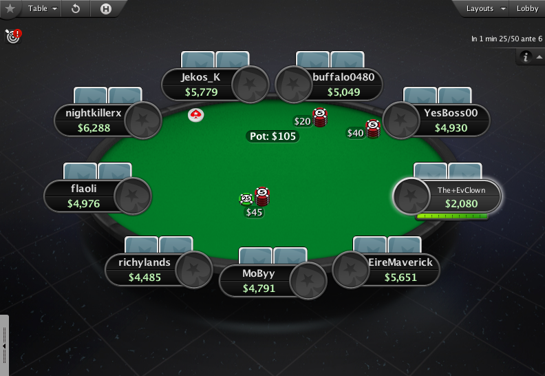 PokerStars Theme EB - 02 9-Max Table