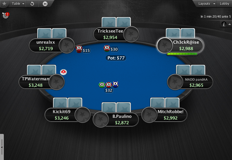 PokerStars Theme EB - 06 8-Max Table