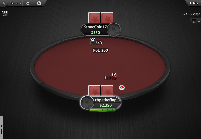 PokerStars Theme EB - 07 HU Table