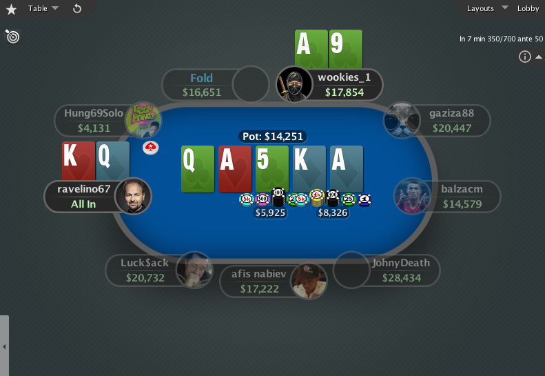 PokerStars Theme EB GTO V.3 - 11 Holdem SD