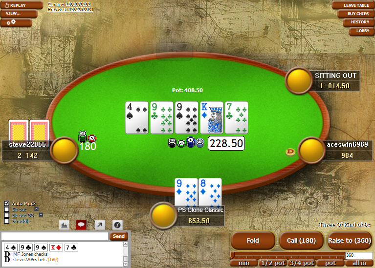 PokerStars Clone Classic for WPN 01