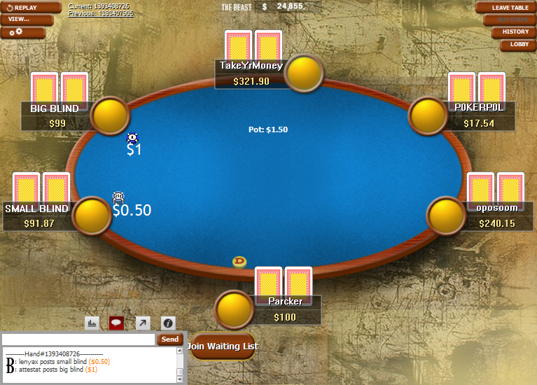 PokerStars Clone Classic for WPN 08