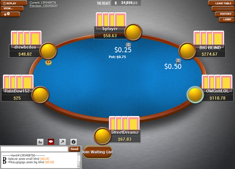 PokerStars Clone Classic for WPN 09